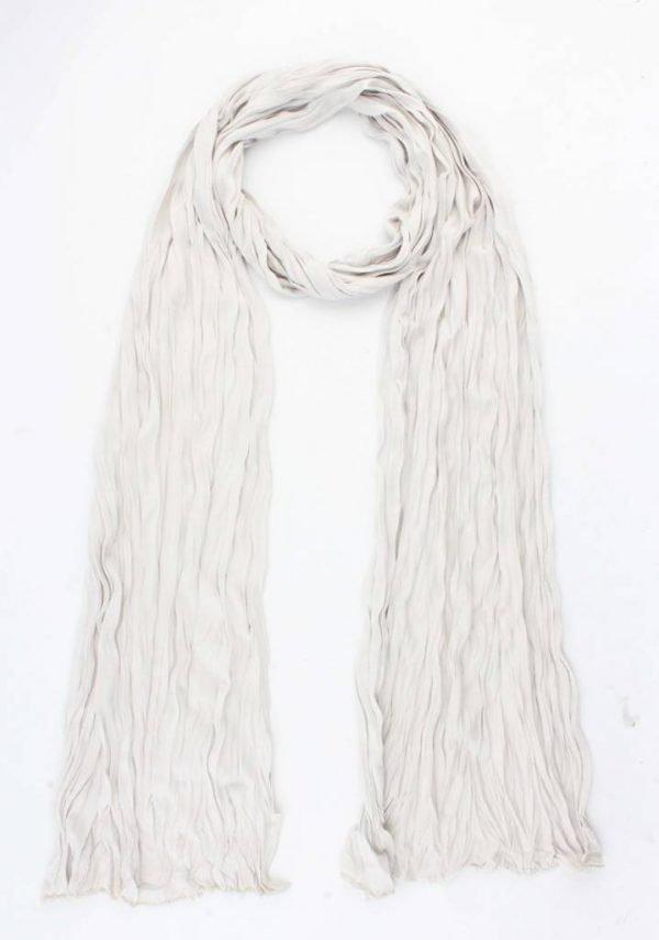 """Sjaal """"Uni Jersey S"""" licht grijs -"""