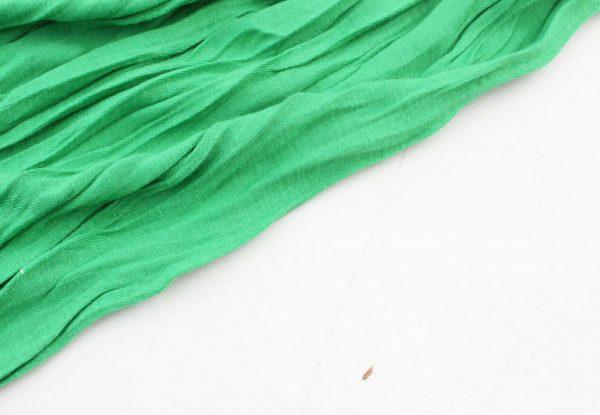 """Sjaal """"Uni Jersey S"""" l. groen -"""