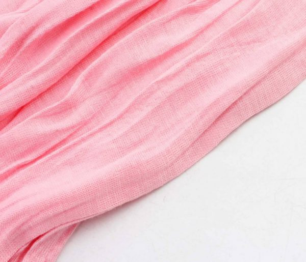 "Sjaal ""Uni Jersey S"" roze - Indini"