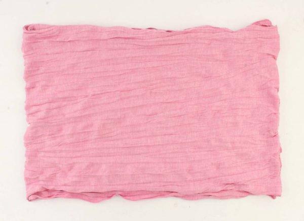 "Sjaal ""Uni Jersey S"" melange roze -"