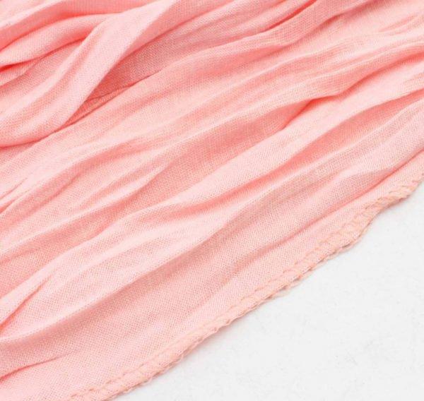 "Sjaal ""Uni Jersey S"" baby roze -"