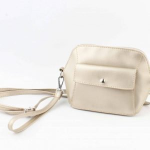 Crossbody - Met Front Pocket Vak - Goud