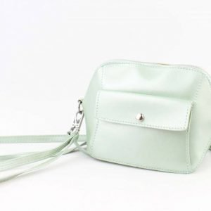 Crossbody - Met Front Pocket Vak - Mint