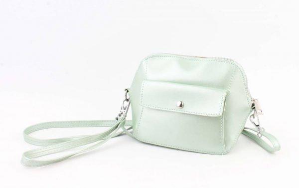 Crossbody - Met Front Pocket Vak - Mint