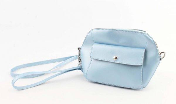 Crossbody - Met Front Pocket Vak - Blauw