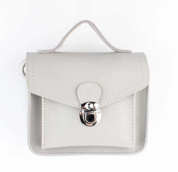 Crossbody - Klassiek - grijs -