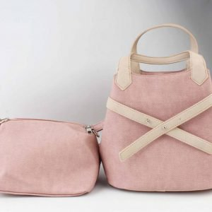 "Handtas ""Salome"" roze/taupe"