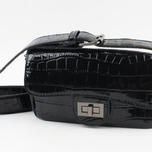 "Crossbody tas ""Cortina"" zwart"