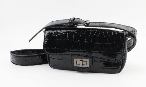 "Crossbody tas ""Cortina"" zwart"