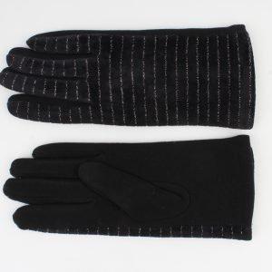 """Handschoen """"Carnelian"""" zwart"""