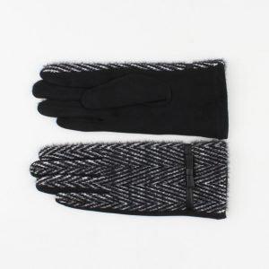 """Handschoen """"Charen"""" zwart"""