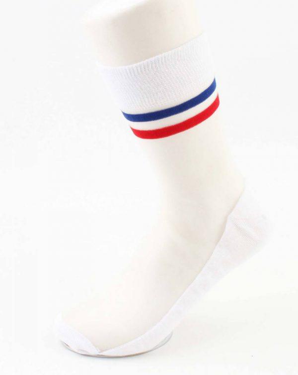 "Sokken ""Vive la France"" rood"