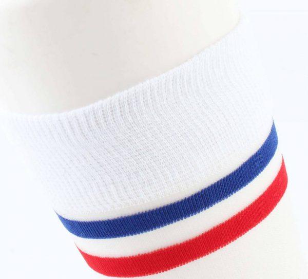 "Sokken ""Vive la France"" rood -"