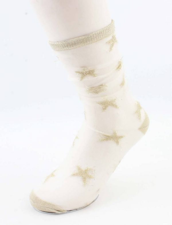 "Sokken ""Joanna"" goud"