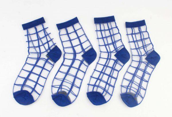 "Sokken ""Suhai"" blauw, per 2 paar -"