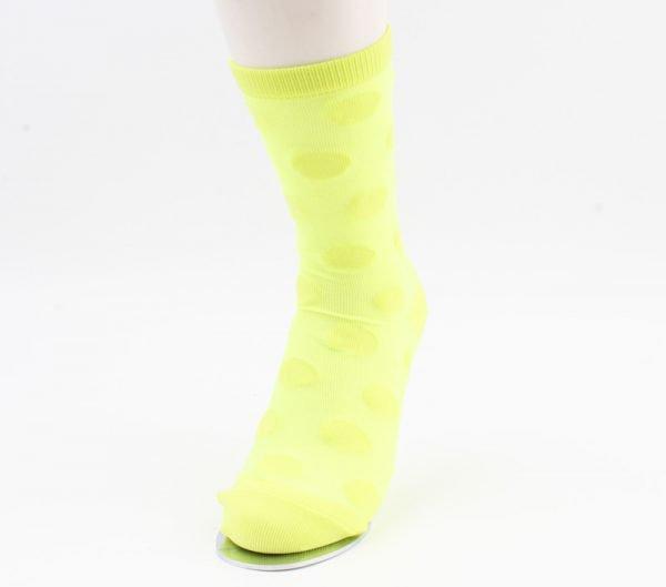 "Sokken ""Caroline"" geel"