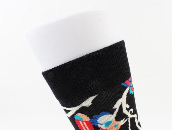 """Heren sokken """"Flint"""" blauw/zwart -"""