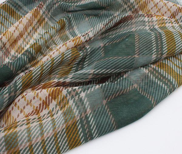 "Sjaal ""Amarga"" groen - Indini"