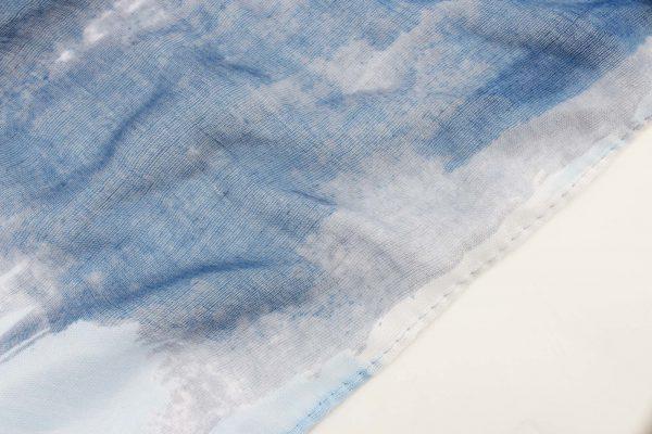 "Sjaal ""Ulysses"" blauw - Indini"