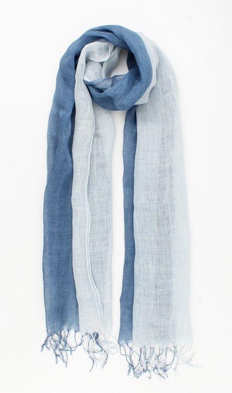 """Sjaal """"Olema"""" blauw"""