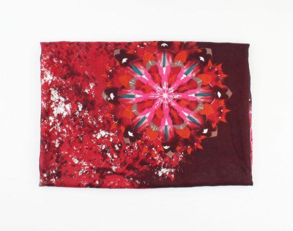 "Sjaal ""African Opal"" zinfandel rood -"