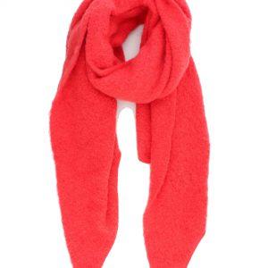 """Sjaal """"Bexney"""" koraal rood"""
