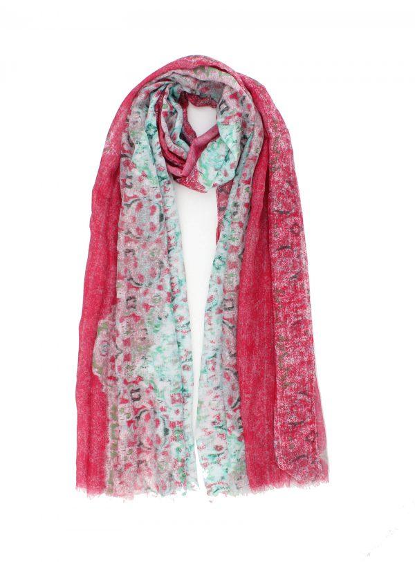 """Sjaal """"Lynn"""" roze"""