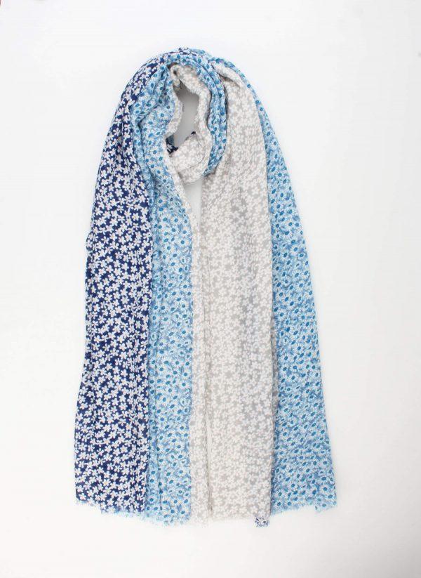 "Sjaal ""Marcelina"" jeans blauw"