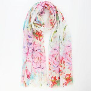 """Sjaal """"Amelia"""" roze"""