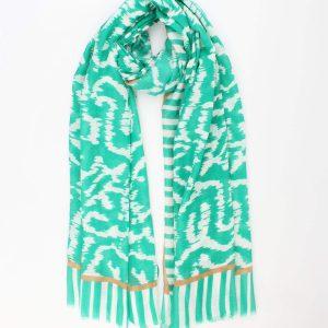 """Sjaal """"Marian"""" groen"""