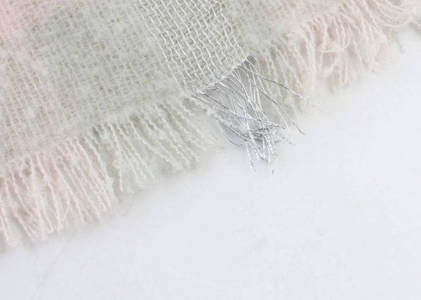 "Sjaal ""Sweet Winter"" pastel - Indini"