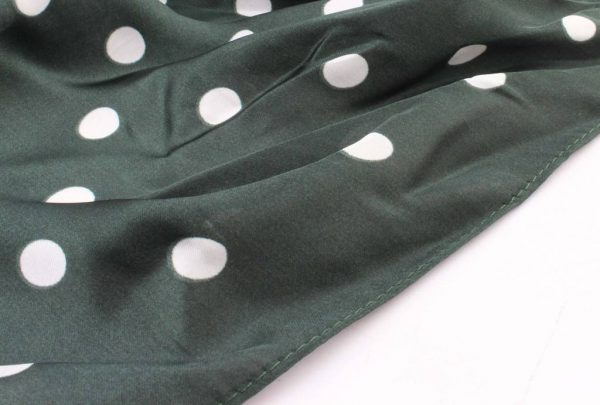 "Bandana ""Dots"" groen -"