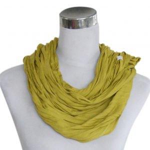 Sjaal Uni Jersey okergeel
