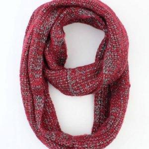 """Loop """"Uni Lurex"""" rood"""