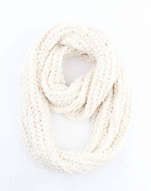 "Loop sjaal ""Gabriella"" wit"