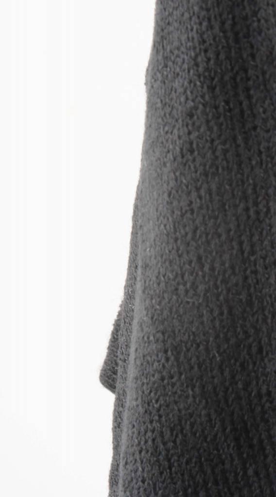 Vest 'Striped' zwart-wit -