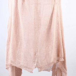 Vest metallic roze