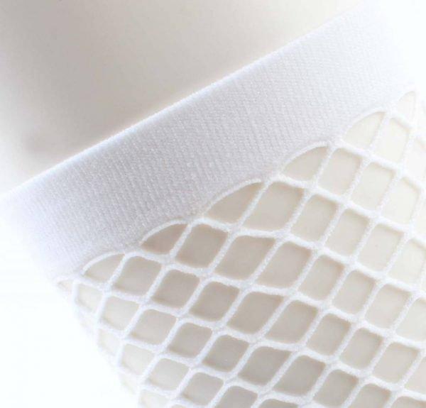 """Sokken """"Sporty Fishnet"""" wit verpakt per 2 paar -"""