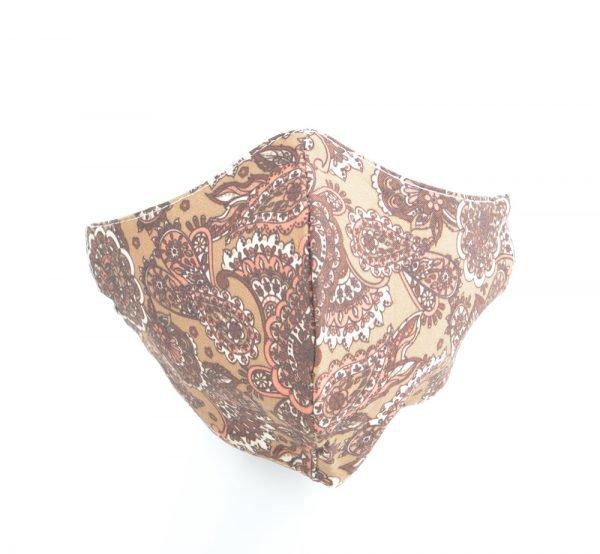 "Mondkapje ""Laos"" bruin"