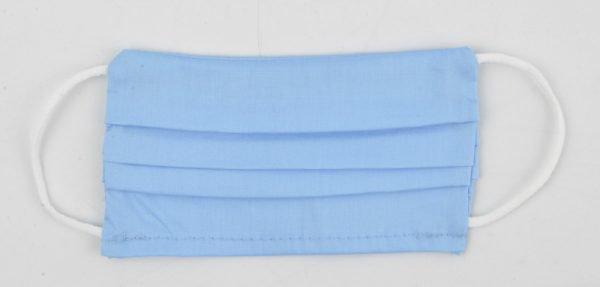 """Mondkapje """"Uni R M"""" blauw"""