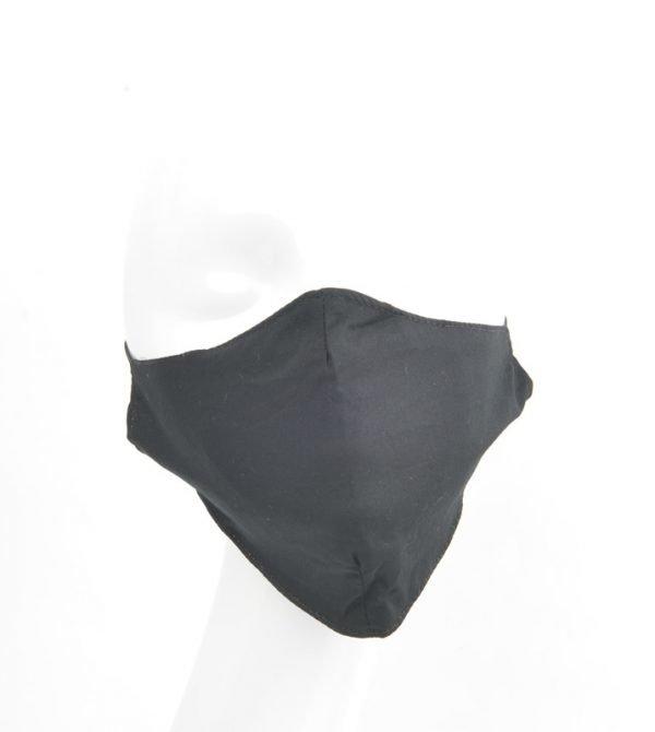 """Mondkapje """"Uni 3D"""" zwart"""