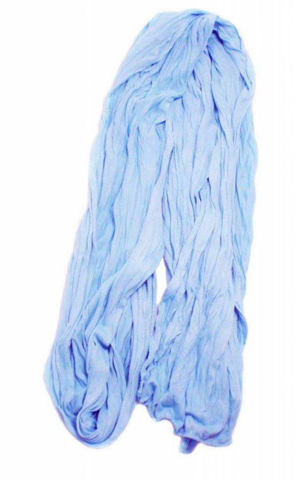 """Sjaal """"Uni Jersey S"""" melee blauw"""