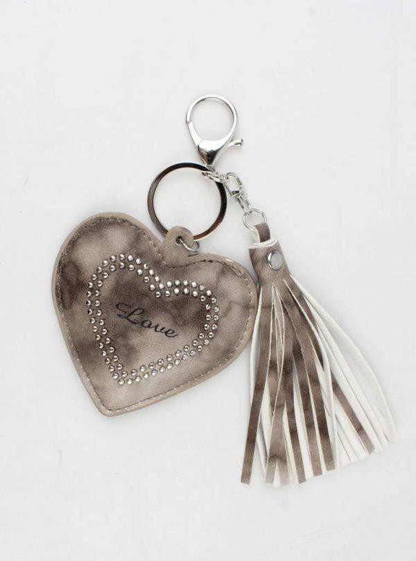"""Hanger """"Hard & Love"""" bruin"""