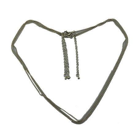 Korte Halsketting Groen - Geraffeld Design - Small Size