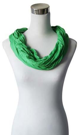 Sjaal Uni Jersey lente groen