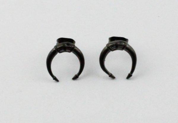 Oorbel | Symbol | Stainless Steel | Anthracite