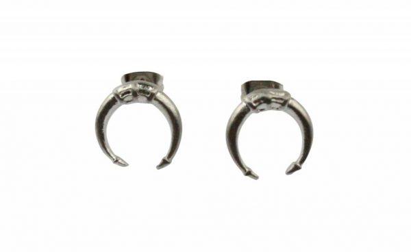 Oorbel |  Symbol | Stainless Steel | Silver