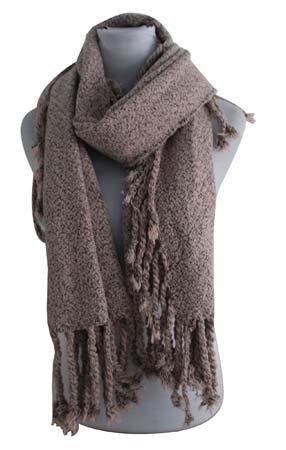 Sjaal vierkant taupe (812602)