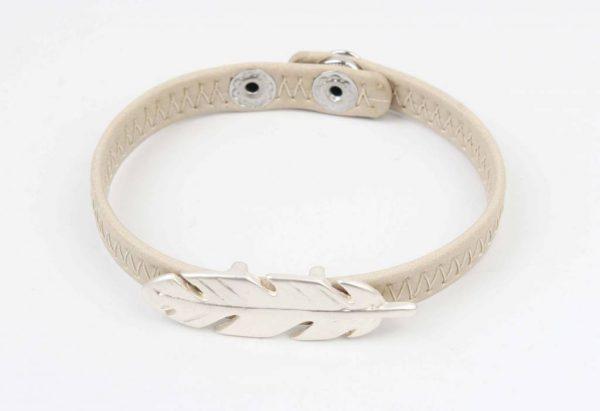 Armband veer beige (327824)