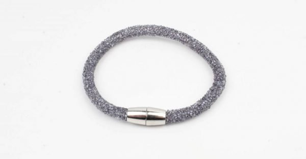 "Armband ""Glitter"" blauw (327832)"